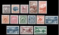 Изображение Новая Зеландия 1998 г. SC# 1508-21 • 40 c. - 1.80$ • репринт серии 1898 г. • MNH OG XF • полн. серия ( кат.- $17 )