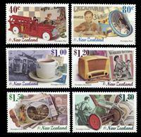 Изображение Новая Зеландия 1999 г. SC# 1579-84 • 40 c. - 1.80$ • Ностальгия по прошлому • MNH OG XF • полн. серия ( кат.- $11 )