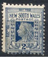 Bild von Австралия • Новый Южный Уэльс 1897-1899 гг. Gb# 294 • 2 d. • осн. выпуск • королева Виктория • MH OG VF ( кат.- £10 )