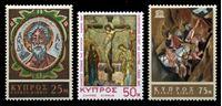 Изображение Кипр 1967 г. Gb# 313-15 • 25,50 и 75 m. • События и юбилеи • MNH OG XF • полн. серия