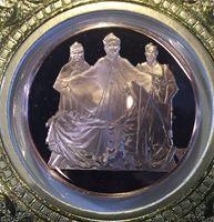 Image de США 1984 г. • Рождество • медаль • MS BU люкс! • пруф