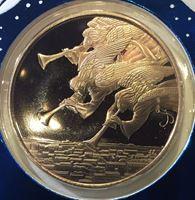 Picture of США 1985 г. • Рождество • медаль • MS BU люкс! • пруф