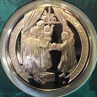 Bild von США 1982 г. • Рождество • медаль • MS BU люкс! • пруф