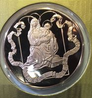 Изображение США 1982 г. • Рождество • медаль • MS BU люкс! • пруф