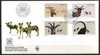 Изображение Юго-западная Африка 1980 г. SC# 443-6 • 5 - 20 c. • 25-летие нац. программы защиты природы • копытные • Used(ФГ) XF • КПД