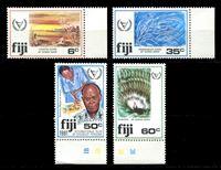 Изображение Фиджи 1981 г. SC# 438-41 • 6 - 60 c. • Международный год инвалидов • MNH OG XF+ • полн. серия