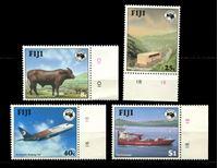 Изображение Фиджи 1984 г. SC# 514-7 • 8 c. - 1$ • Тихоокеанская выставка • MNH OG XF+ • полн. серия