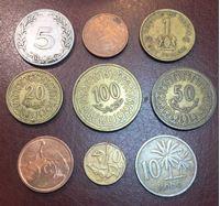 Изображение Иностранные монеты • Африка (набор 9 разных типов) • регулярный выпуск • VF-UNC