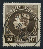 Изображение Бельгия 1929 г. SC# 212 • 10 fr. • король Альберт I • Used XF ( кат.- $5 )