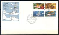 Picture of Канада 1979 г. SC# 843-6a • 17 - 35 c. • История авиации • гидросамолеты • Used(СГ) XF • полн. серия • кв.блок • КПД