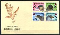 Image de Фолклендские о-ва 1980 г. SC# 306-9 • 3 - 25 p. • Хищные птицы • Used(СГ) XF • полн. серия • КПД