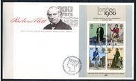 Изображение 1979 г. SC# 874a • Роуленд Хилл, 100 лет со дня смерти • Used(СГ) XF • блок • КПД