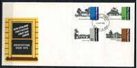 Bild von Новая Зеландия 1979 г. SC# 681-4 • 10 - 20 c. • Архитектура страны • Used(СГ) XF • полн. серия • КПД