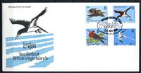 Изображение Британские Виргинские о-ва 1980 г. SC# 385-8 • 20 - 75 с. • Морские птицы • Used(СГ) XF • полн. серия • КПД
