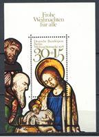 Изображение Западный Берлин 1978 г. Mi# Block 7 • 30 + 15 pf. • Рождество • религиозная сценка • благотворительный выпуск • MNH OG XF • блоки ( кат.- €1 )