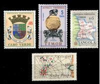Изображение Иностранные марки • 1960-е гг. • Португальские колонии ( 4 марки ) • MNH OG XF