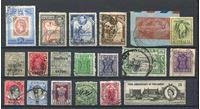 Изображение Британские колонии • XIX-XX век • лот 19 разных старых марок • Used VF