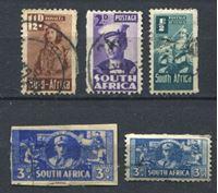 Изображение Южная Африка • XX век • лот 5 старых марок • Used VF
