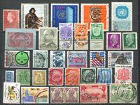 Изображение Иностранные марки • XX век • лот 30+ разных старых марок • Used VF