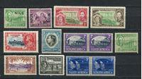 Изображение Британские колонии • XX век • лот 11 разных старых марок • MNH OG VF