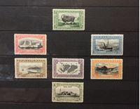 Изображение Фолклендские о-ва 1933 г. Gb# 127-132,134 • 100-летие Британской администрации • MLH OG VF-XF ( кат.- £160 )