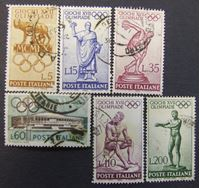 Изображение Италия 1960 г. • Mi# • Олимпийские игры в Риме. концовка • Used XF
